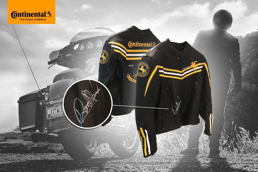 Gana con Continental una chaqueta firmada por Randy Mamola.