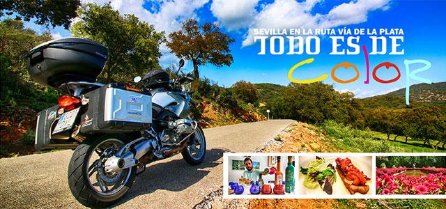 Todo es de color: en moto por Sevilla y la Sierra Norte