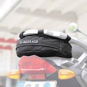 Held toolbag: bolsa de herramientas trasera para BMW R1200 GS.