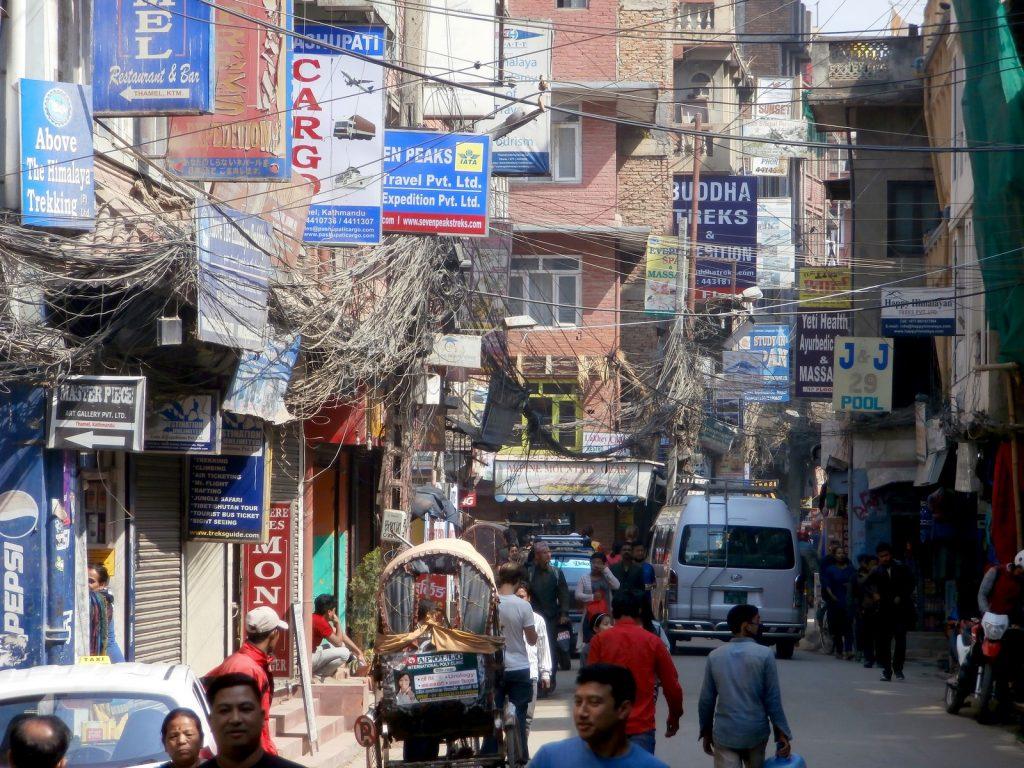 La vorágine de Katmandú.