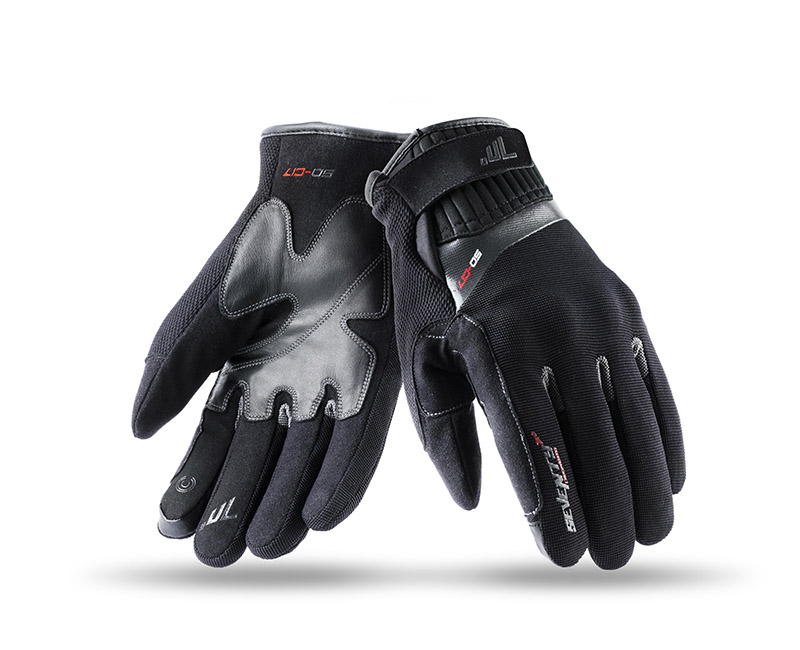 Guantes para moto Seventy Degrees SD-17.