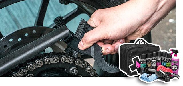 Limpieza: Deja tu moto como un pincel