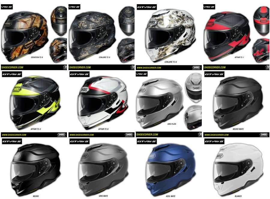Casco Shoei GT-Air II, un casco touring premium
