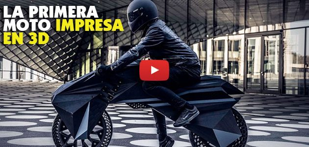 NERAbike, la primera moto impresa en 3D