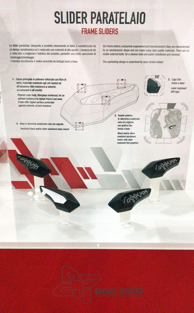 Protectores de motor GIVI - frame sliders