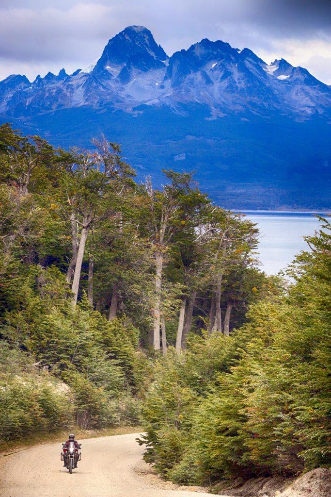En Tierra del Fuego.