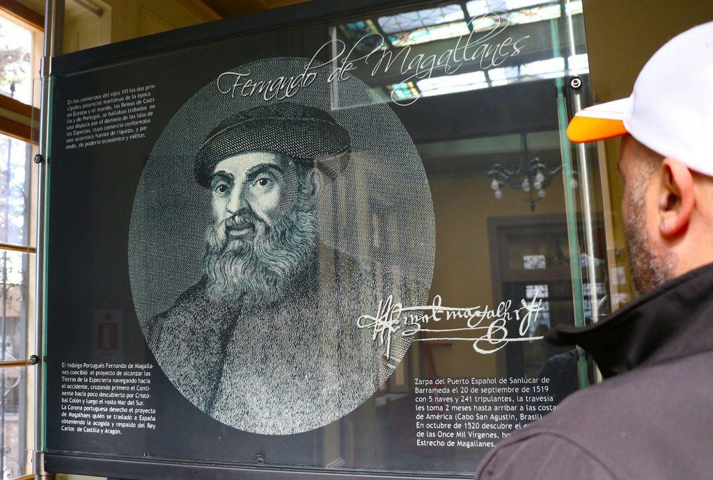 La figura de Fernando de Magallanes resulta imprescindible para comprender la historia de Punta Arenas.