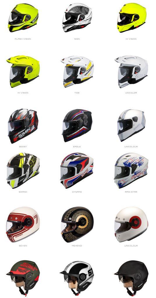 Smk helmets, los nuevos cascos distribuidos por Dynamic Line.