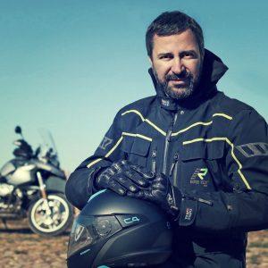 Quique Arenas, director de Motoviajeros