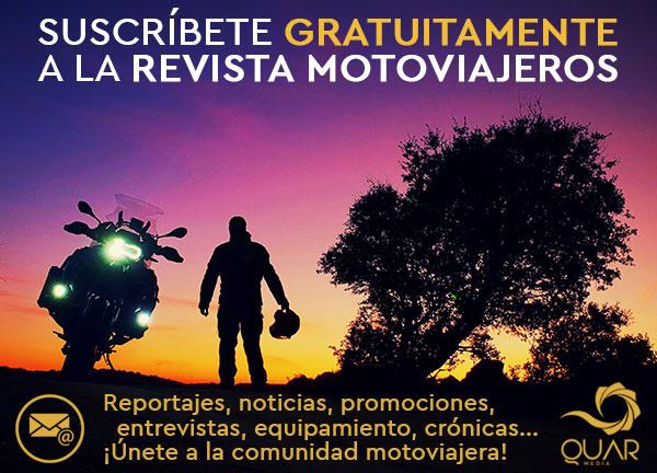 suscripción revista motoviajeros