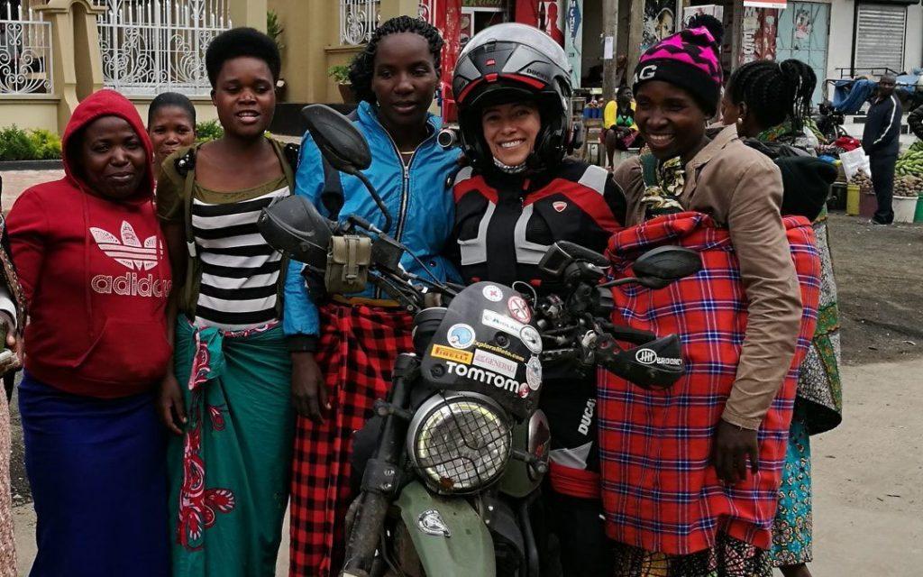 Fotografía de Alicia Sornosa, durante su viaje por África 2018.