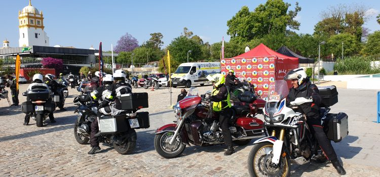 Más de un centenar de participantes completan el II Rally Turístico Ruta Vía de la Plata