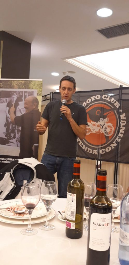 Antonio Herrero, hijo del maestro del periodismo del motor.