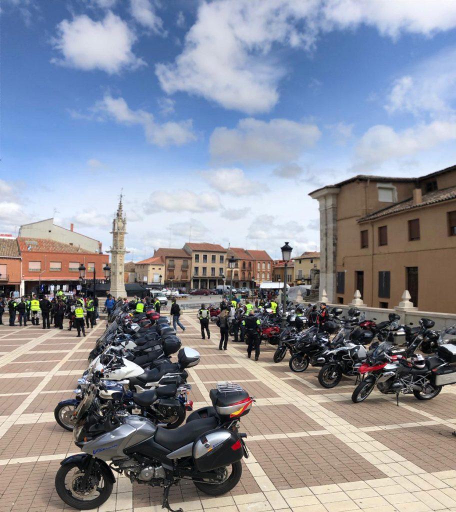 Villalón: Vuelta Mototurística a Valladolid-Memorial Javier Herrero