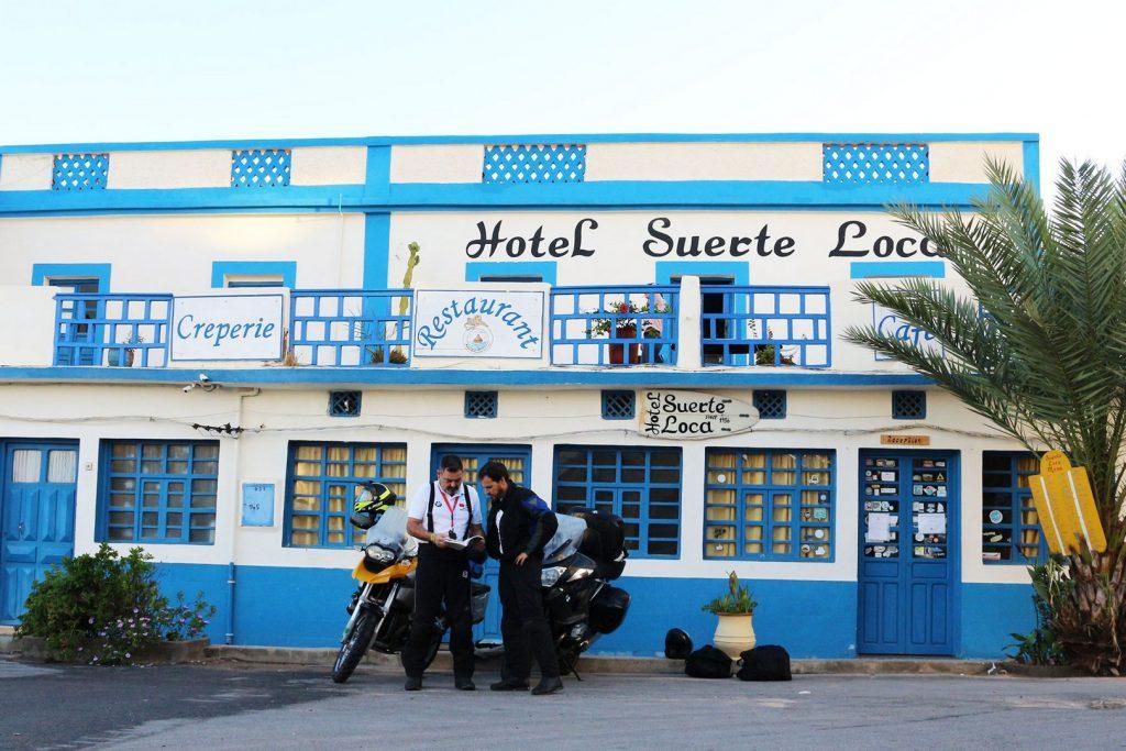 El Hotel Suerte Loca fue fundado en 1934 por un español.