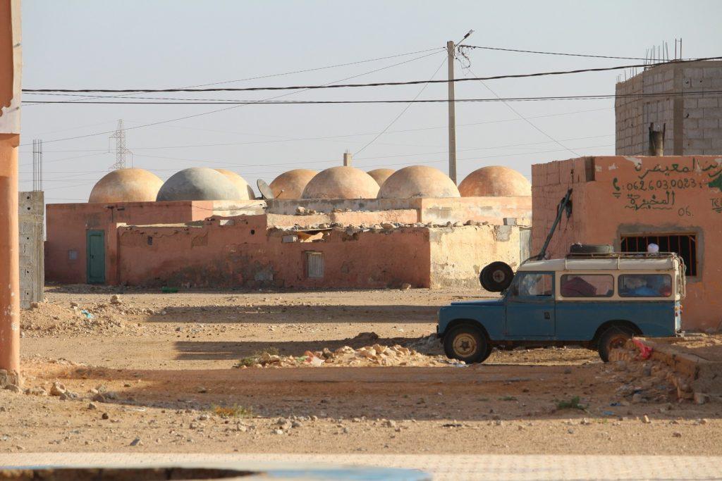 Viaje al Sáhara Occidental español.