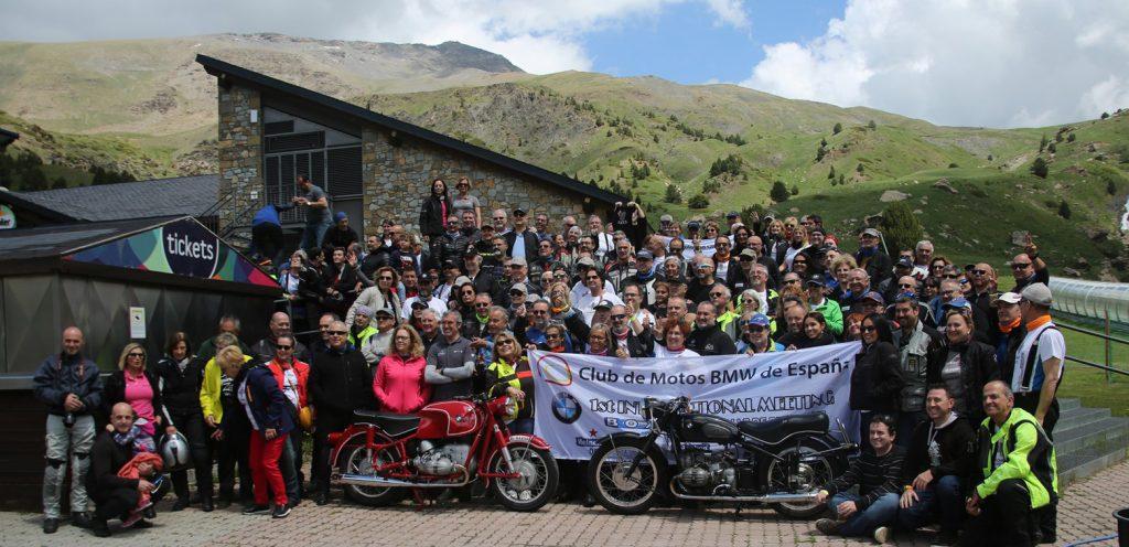 Organizado por el Club de Motos BMW de España.