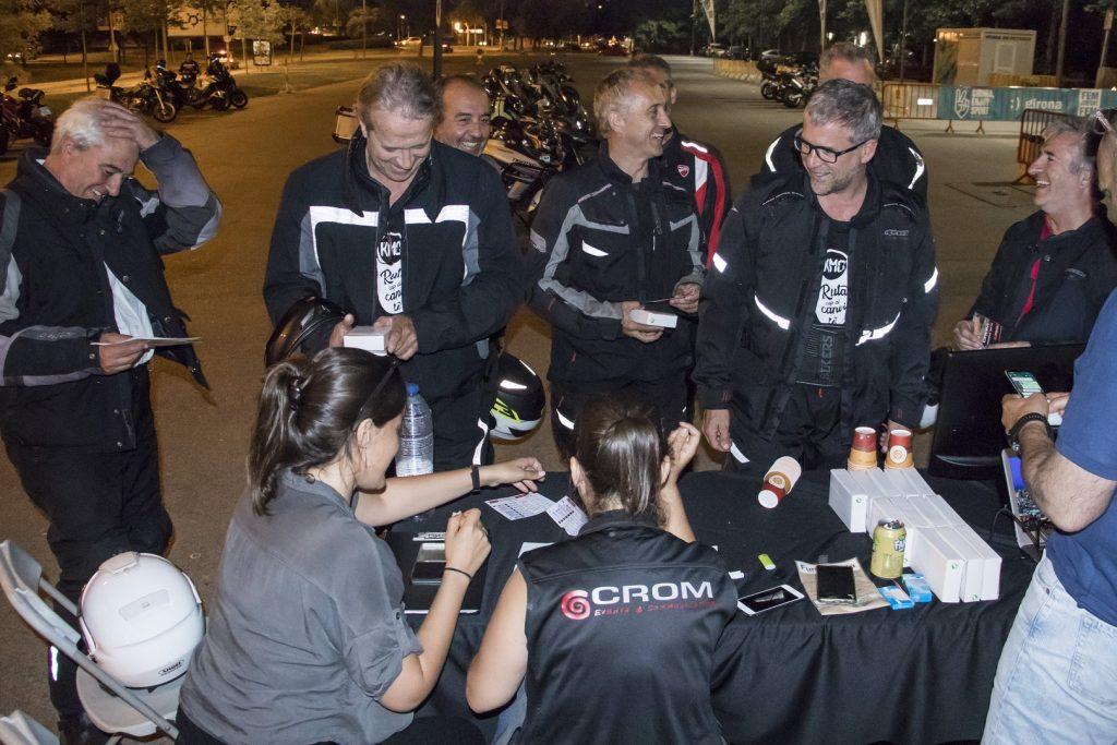 Participantes en la edición Crom Ride 2018.