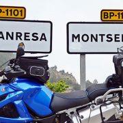 Can Massana, la carretera de Montserrat