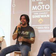 Charly Sinewan presenta su libro en Madrid