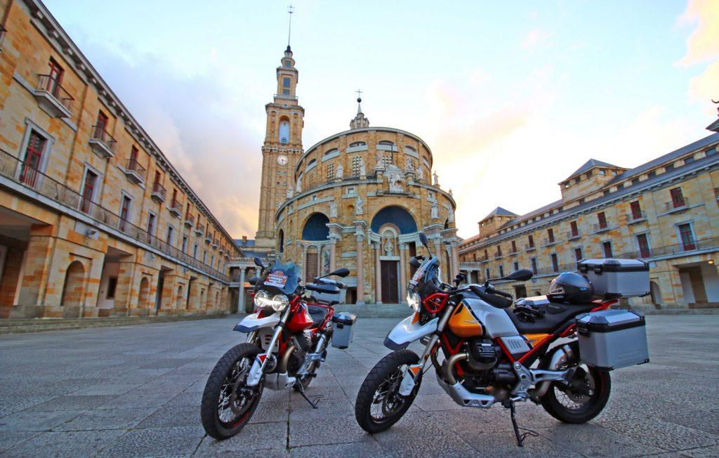 Moto Guzzi V85TT.