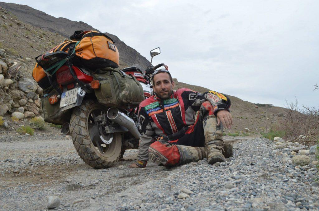 """Ricardo Fité, autor del libro """"5 verano en moto"""""""