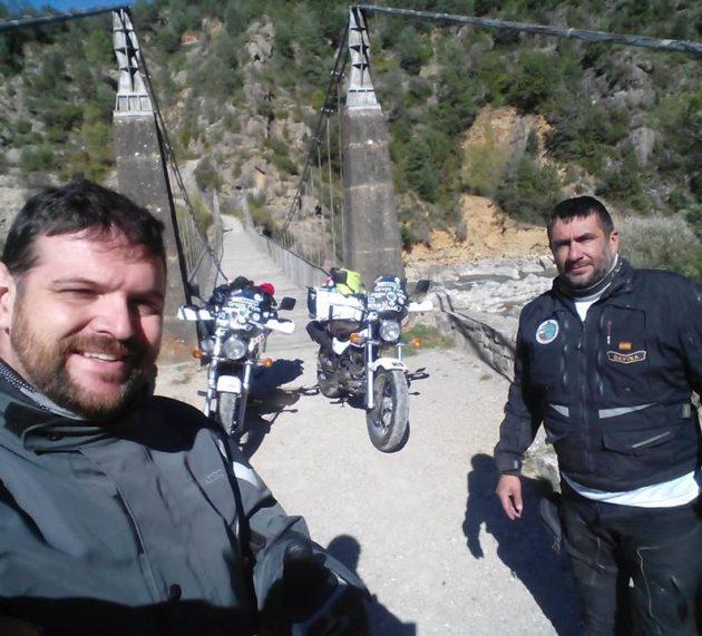 Vuelta a España en Van Van 125