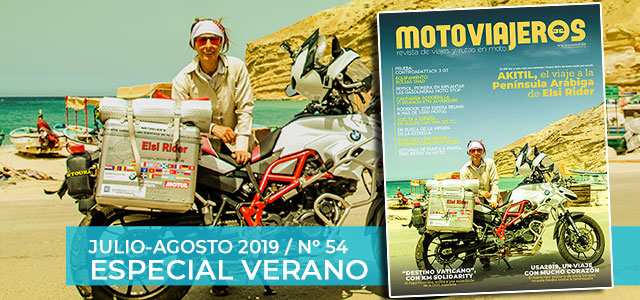 Julio-Agosto 2019 // Nº 54 Revista Motoviajeros