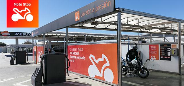 Repsol Moto Stop, las primeras gasolineras para motos