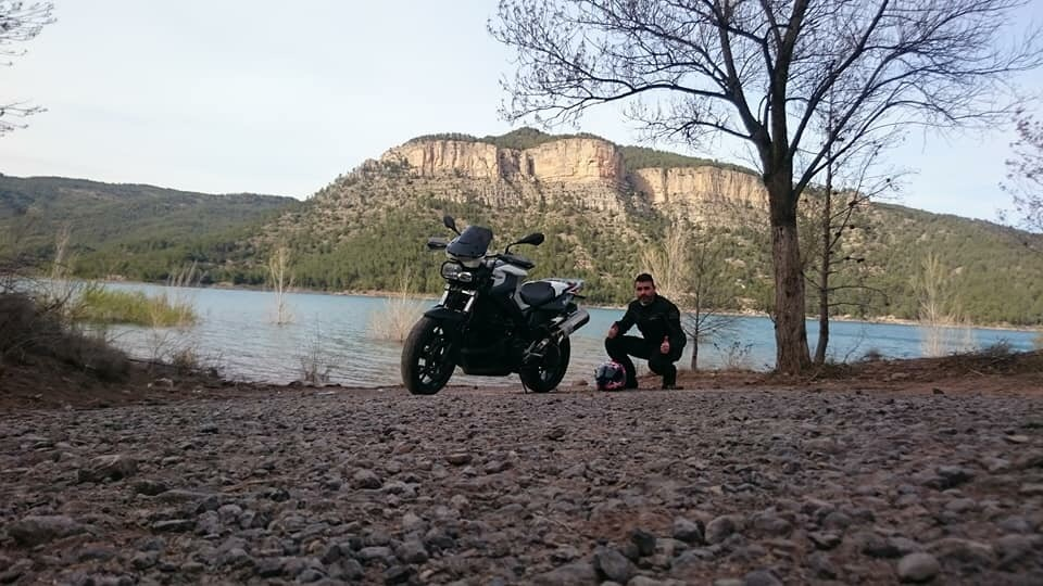 En moto por las provincias de Valencia, Castellón y Valencia.