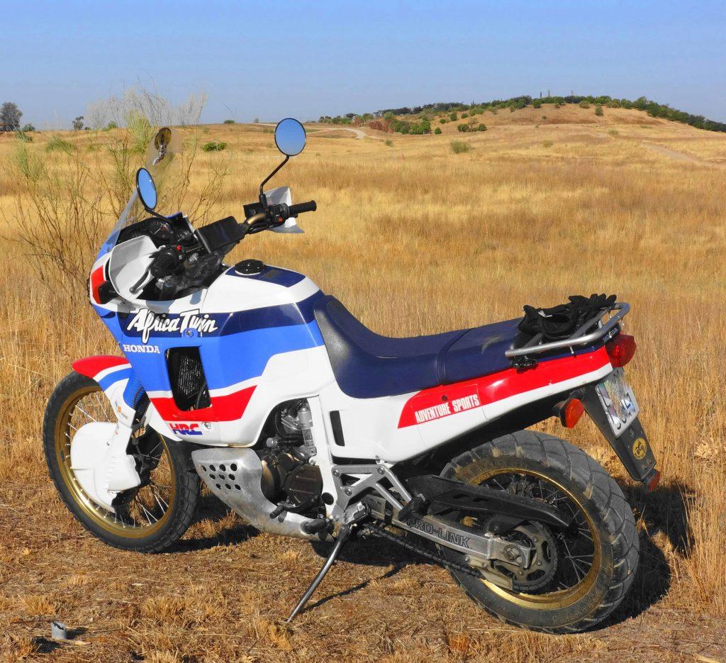 Juan Recio y su Africa Twin 650 RD 03