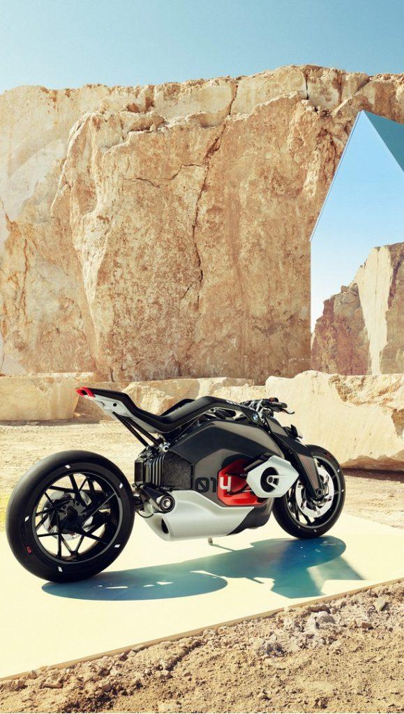 Así es la moto eléctrica de BMW..