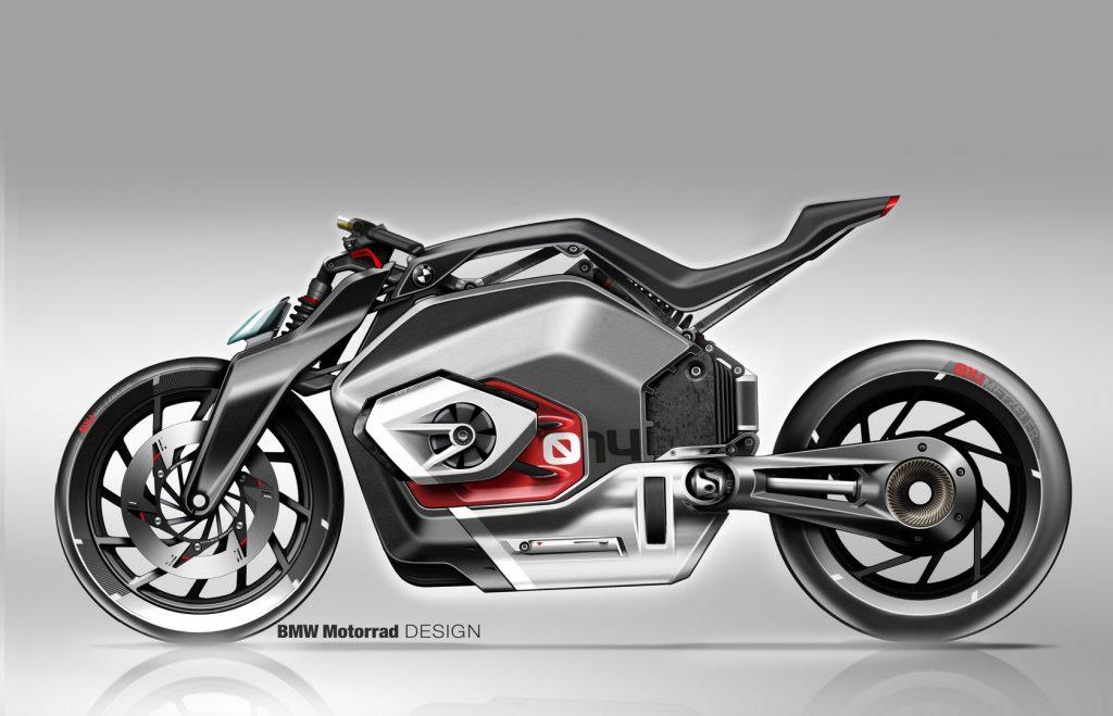 La BMW Motorrad Vision DC Roadster es un símbolo visionario del futuro