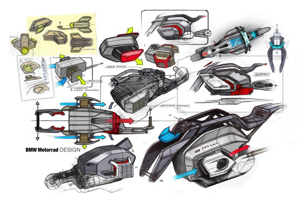 El motor es la pieza clave de la Vision DC Roadster.