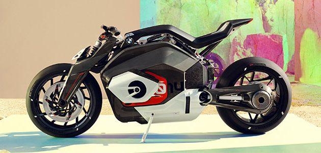 BMW Vision DC Roadster: así es la moto eléctrica boxer