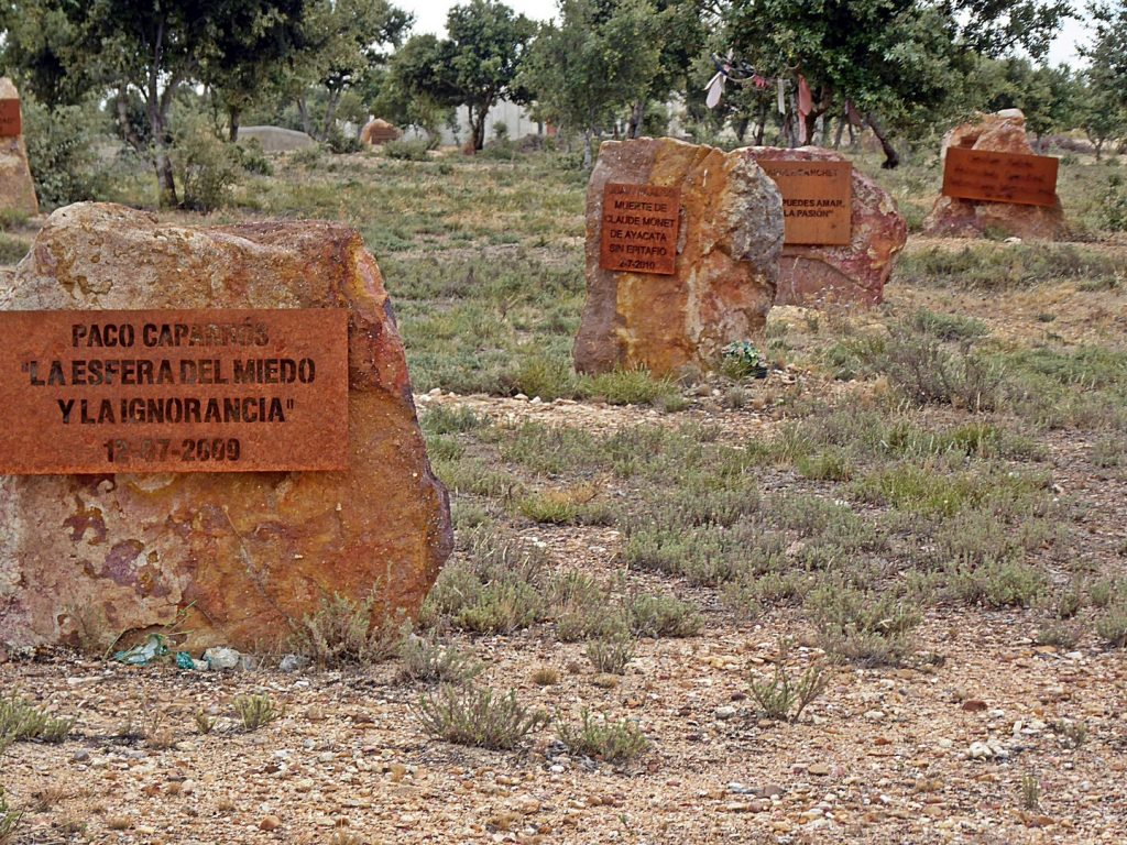 """Los """"entierros"""" de Morille."""