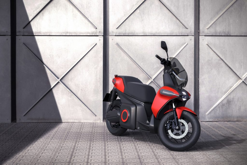 SEAT e-scooter concept.