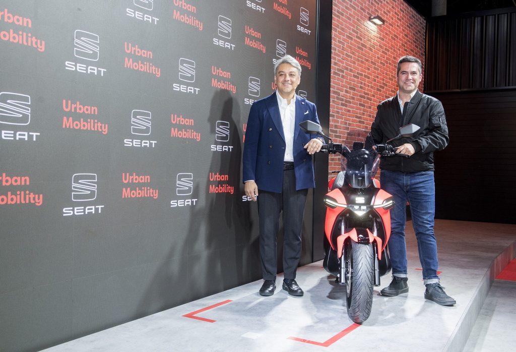La primera moto eléctrica de SEAT ha sido presentada en el IX Smart City Expo World Congress.