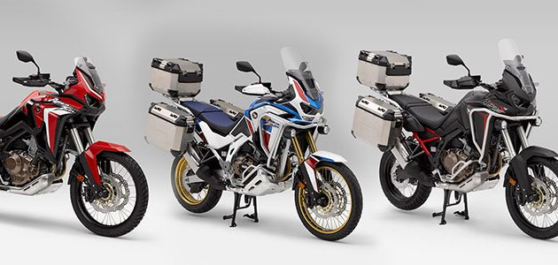 Africa Twin y AT Adventure Sports 2020