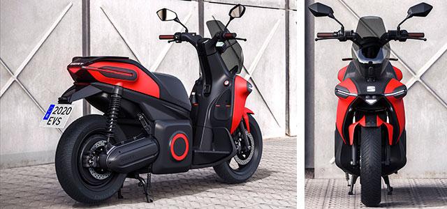 Así es la moto eléctrica de SEAT: e-scooter concept