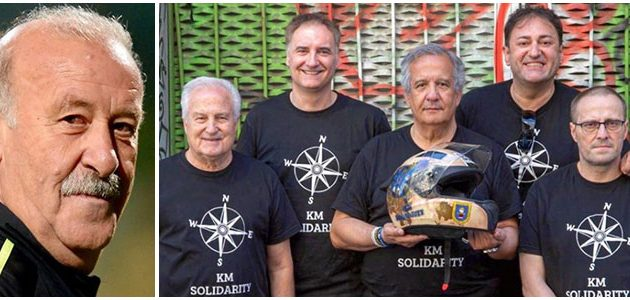 Del Bosque, socio de honor de KM Solidarity