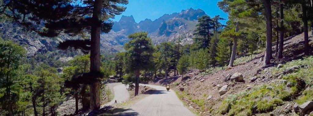 Subida estacion esquí Asco Stagnu