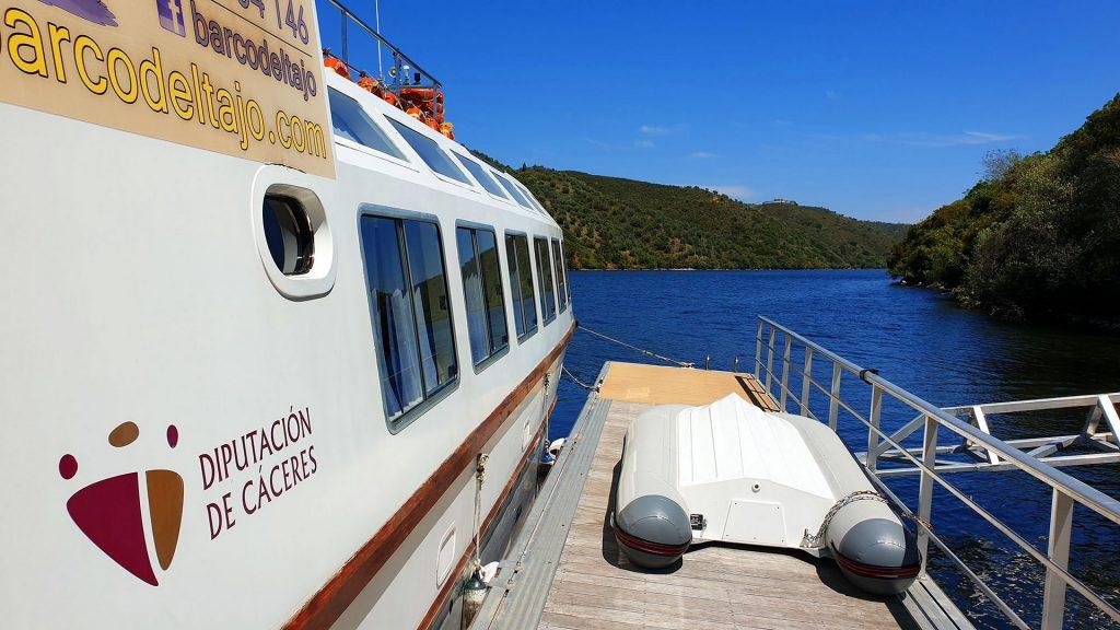 El Barco del Tajo, en el término municipal de Cedillo.