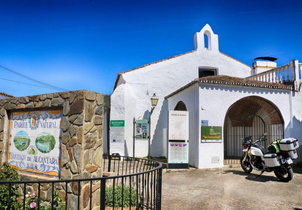 """Centro de Interpretación """"El Péndere"""", Santiago de Alcántara."""