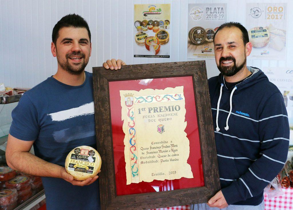 En Carbajo se producen quesos de primera calidad.