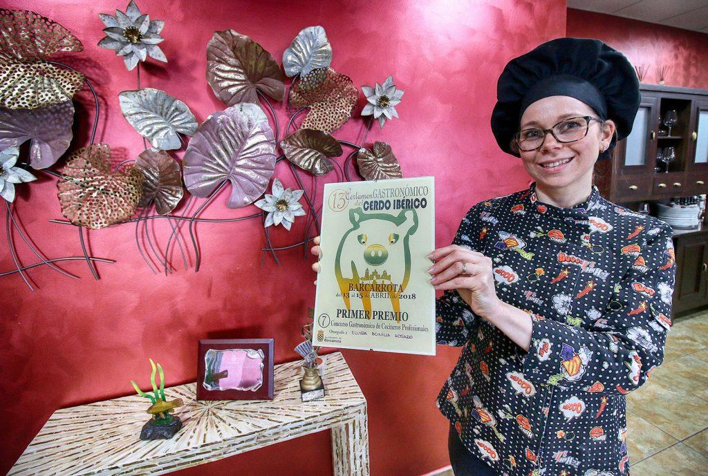 Tajo Internacional también es destino gastronómico; en la imagen Elvira Bonilla, de La Laguna.