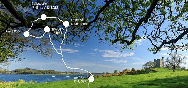 La ruta de Juego de Tronos