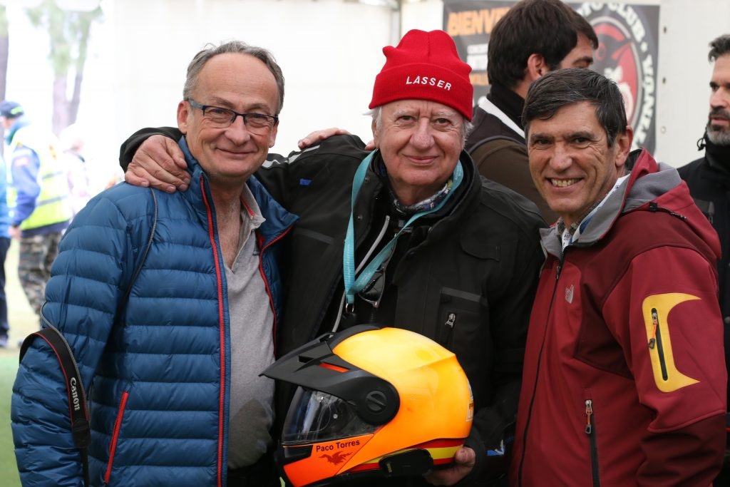 La Leyenda Continúa 2020, Cantalejo. Alfonso Gordon (i), Paco Torres (c) y Gustavo Cuervo (d).