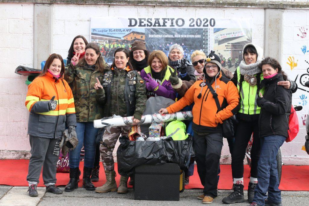 La Leyenda Continúa 2020, Cantalejo. Mujeres moteras.