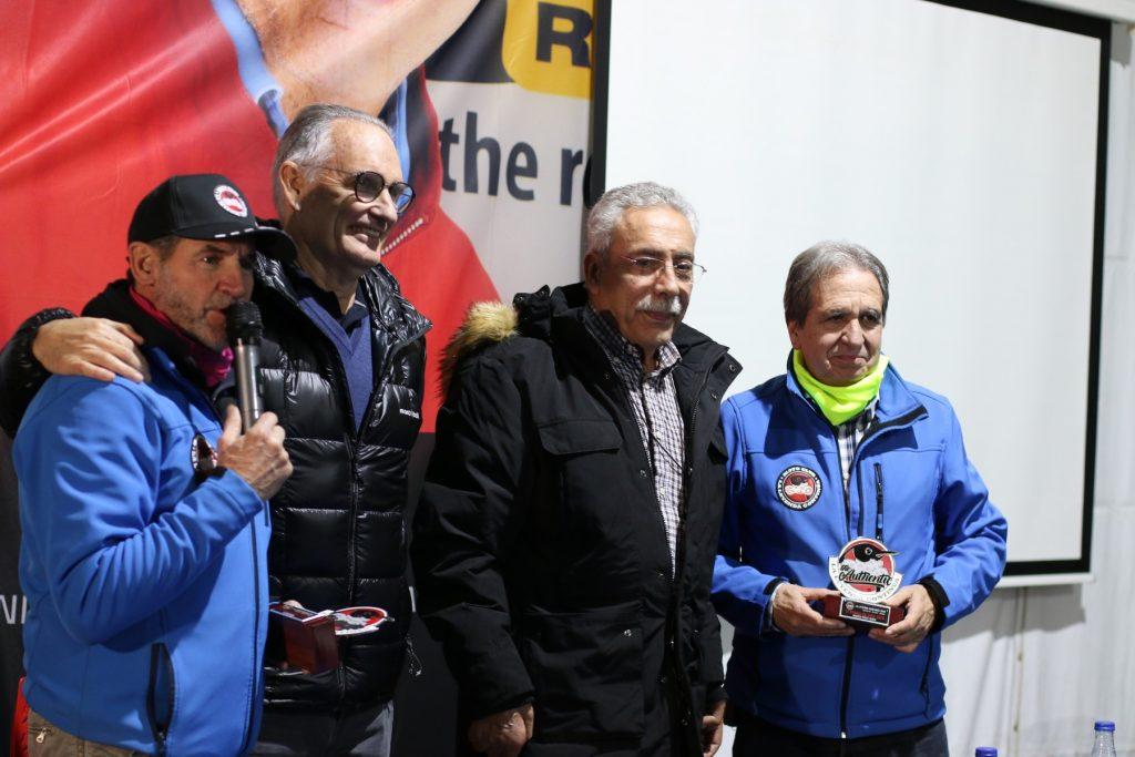 La Leyenda Continúa 2020, Cantalejo. Con los premiados, el doctor Xavier Mir y Andrés Pérez Rubio.